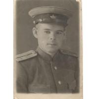 Шештанов Николай Васильевич - фронтовик, житель села Обшаровка Приволжского района Самарской области