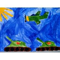 «Они сражались за Родину!»  Автор: Аравина Ирина Федоровна, ученица 2 класса МБОУ «Вязовская СШ», Еланский район Волгоградская область, Россия.