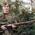 Именно под Севастополем Людмила Павличенко официально довела счет убитых врагов до 309 солдат и офицеров противника, среди них было и 36 вражеских снайперов, которые активизировали свою работу под городом, после того как фронт стабилизировался и боевые действия приобрели позиционный характер.