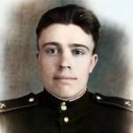 В 1945 году был призван в ряды РККА Аларским РВК Иркутской области.