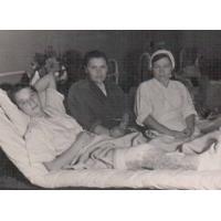 Семейные реликвии Косенковой Валентины Ивановны  - На фронте в должности медицинской сестры с 1940 года.