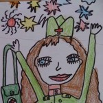 Блиц - конкурс детского рисунка «Письмо ветерану», проведенный в МБУДО ДЮЦ «Русинка» г. Волжского Волгоградской области.