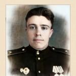 В августе-сентябре 1945 года принимал участие в Советско-Японской войне в составе Забайкальского фронта в Маньчжурии, дошёл до г. Мукдена.