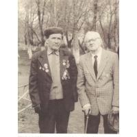 Шештанов Анатолий Васильевич и Шештанов Василий Васильевич - фронтовики Великой Отечественной войны