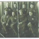 Мой прадед Сотников Вениамин Павлович с сослуживцами. Прадед третий во втором ряду слева.